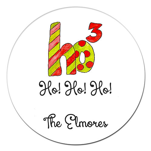 Ho Times 3 Sticker