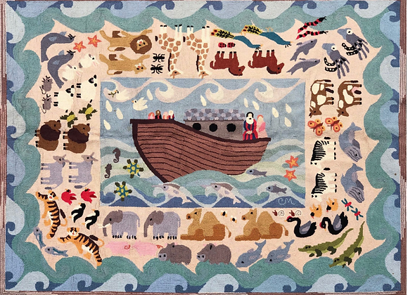 CLAIRE MURRAY HAND HOOKED RUG