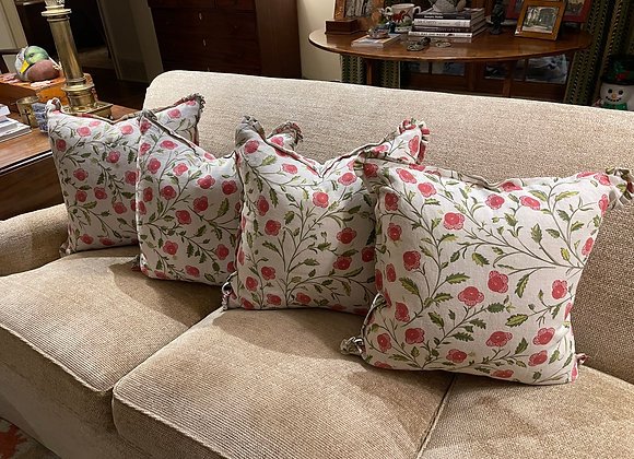 4 DOWN FILLED RAOUL FABRIC PILLOWS