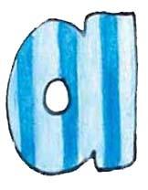 A L Blue Stripes