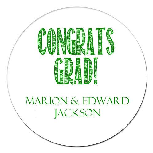 Congrats Grad Green