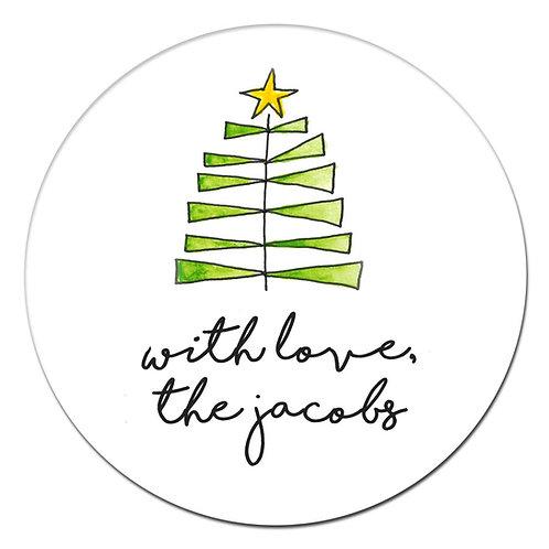 Jenga Tree Sticker