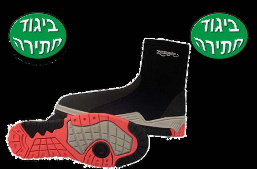 נעלי ניאופרן גבוהות סוליה קשה
