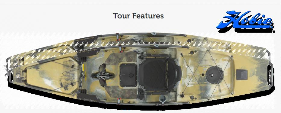 Mirage Pro Angler 14