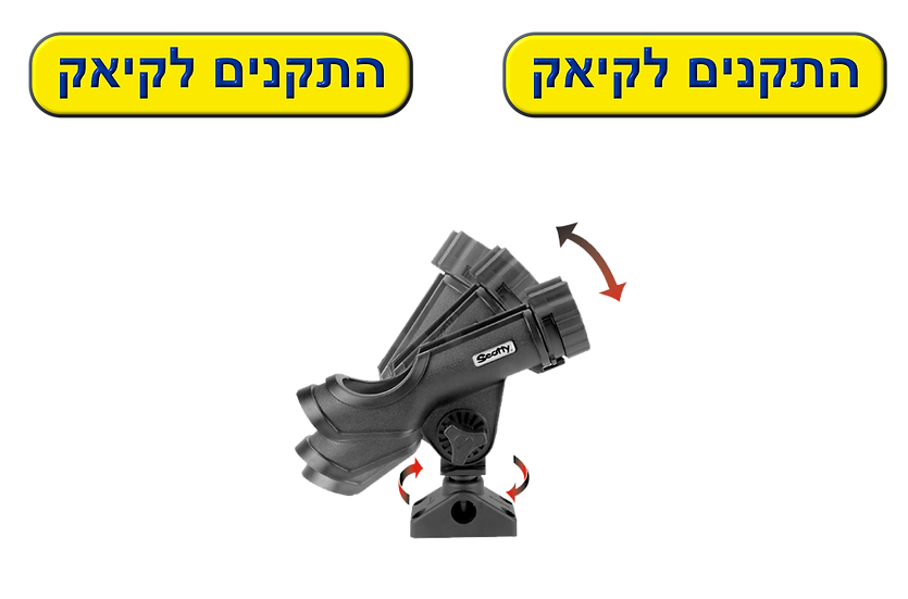 Scotty Power Lock  230 תושבת חכה