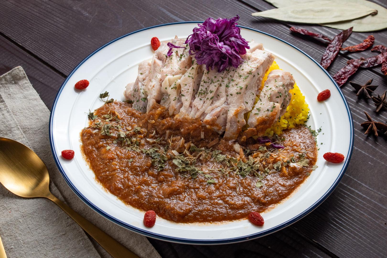 chicken ON カレー
