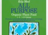 Kelp Meal Plant Food Supplement