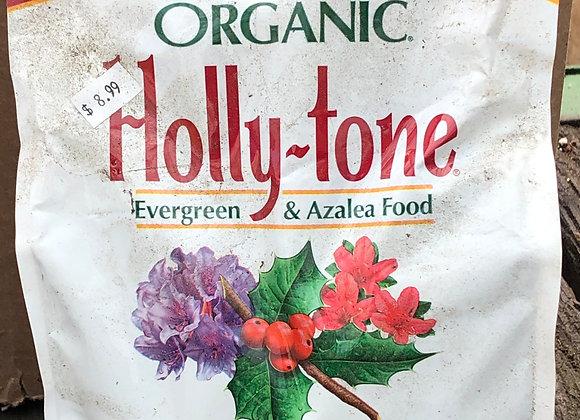 Organic Hollytone Fertilizer for evergreens and azaleas 4 lb. bag.