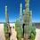 Thumbnail: Cardon semi enterrado en las dunas - Montaje en Acrilico