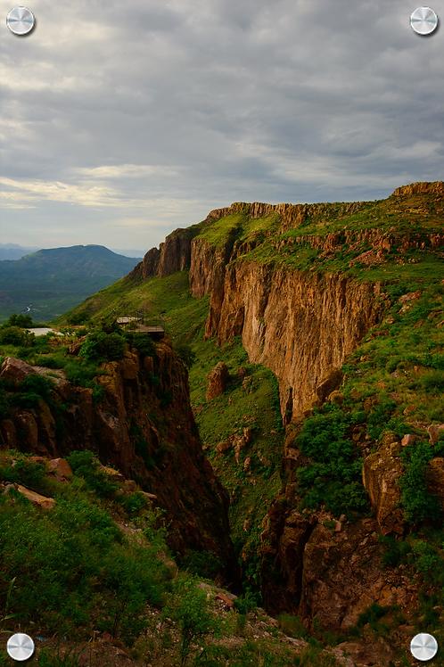 Cruz del diablo en Huasabas Sonora - Montaje en Acrilico