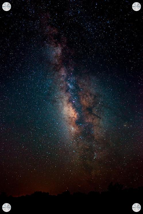 Via Láctea en el desierto de Sonora - Montaje en Acrilico