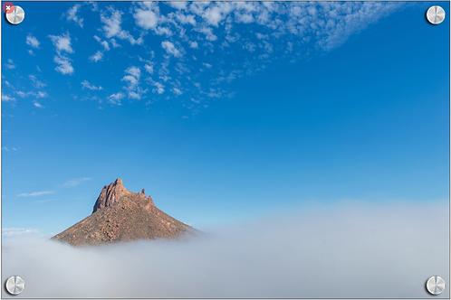 Niebla en el Tetakawi - Fotografía digital montada en Acrilico