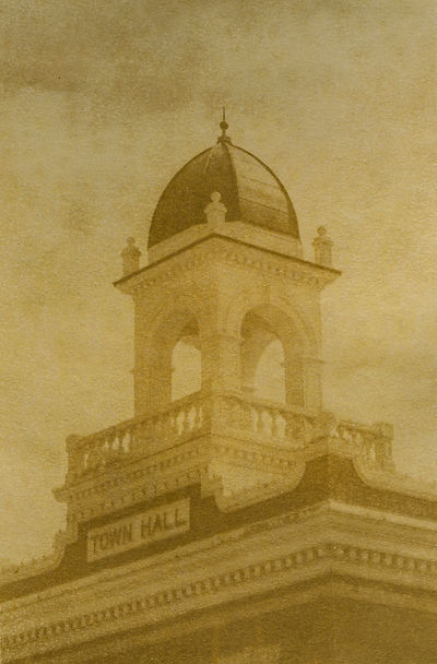 Town Hall Cupola Anthotype