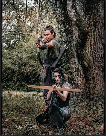 JJ and Jarred archers