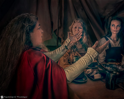 Viking Experience Feast Keyla