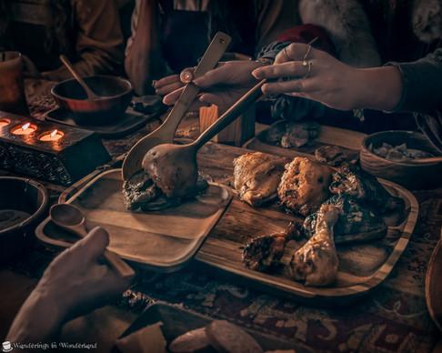 Viking Experience Feast Plate
