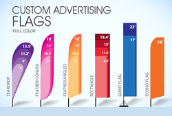 Banners of all sizes