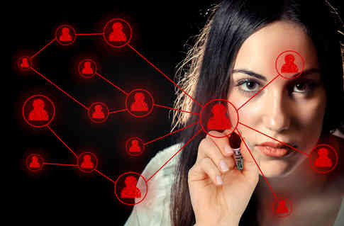 woman-sketching-a-social-network-on-virtual-screen