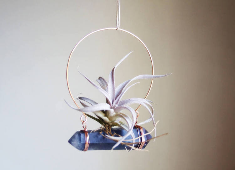 Hanging Crystal Air Planter