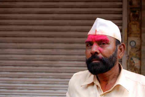 Портретное фото индийского мужчины