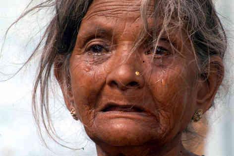Портретное фото индийской женщины