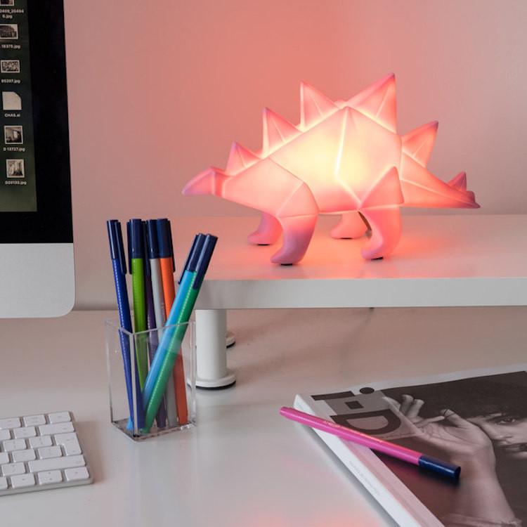 Stegosaurus Dinosaur Lamp