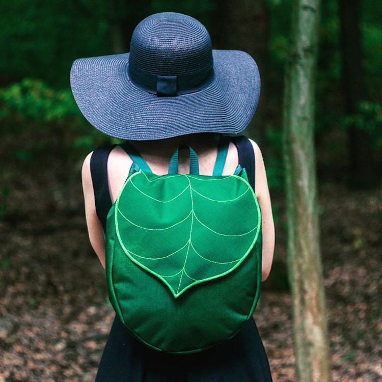 Leaf Bucket Backpack
