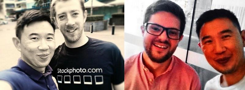 Ли Торренс- на фото слева; Люк Эванс — на фото справа