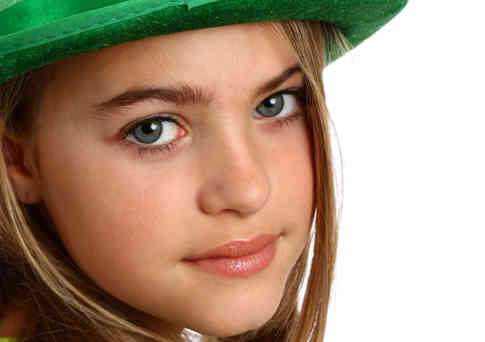 young-girl-dressed-for-saint-patrick