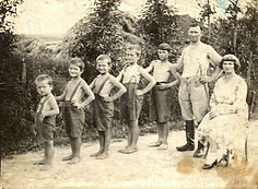 old photo of family