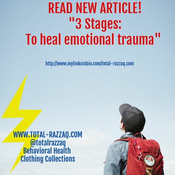 """The Stages"" - Emotional Response to Trauma"