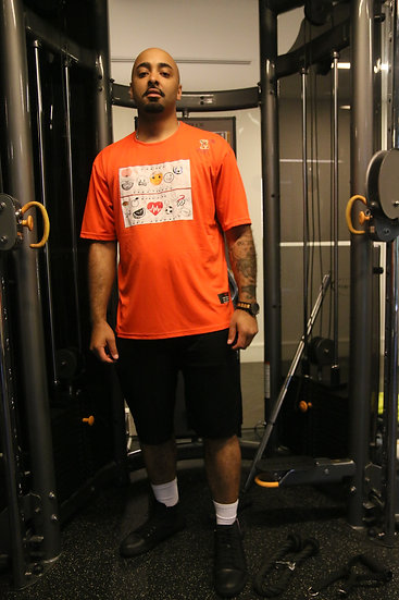 Dry fit - Athletic Orange S/S XL