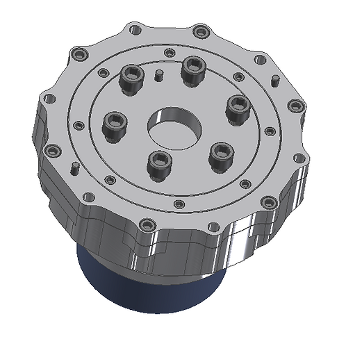 Light Weighted Coaxial Drive Planetary Gearbox