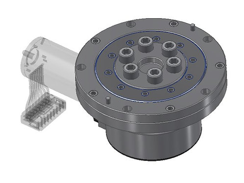 Perpendicular Drive Planetary Gearbox