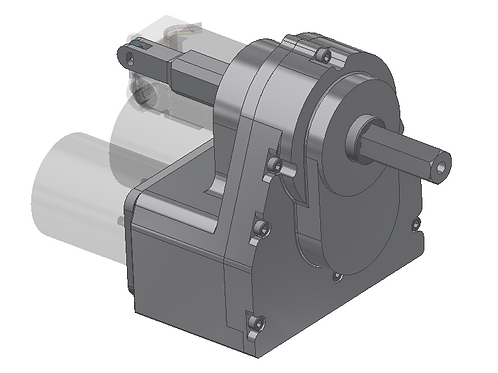 Non-Coaxial Drive Multi-Stage Gearbox