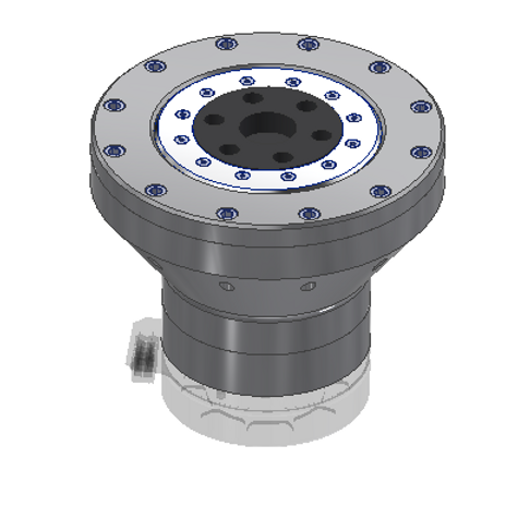 Multi-Stage Planetary Gearbox for 'Pancake' Motors