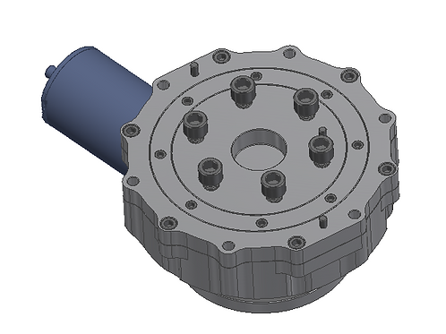 Light Weighted Perpendicular Drive Gearbox