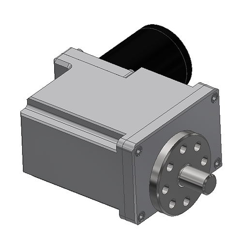 High Gear Ratio High Load Gearbox