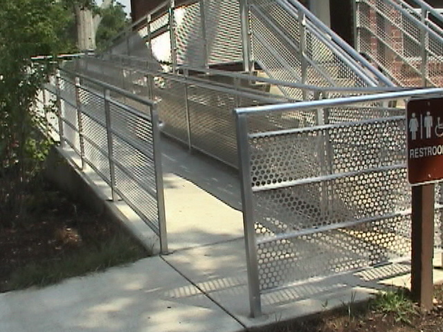 ADA CONCRETE RAMP GLEN ECHO