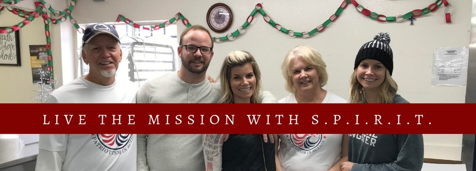 Live The Mission With SPIRIT