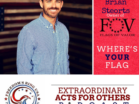 Episode 3- Brian Steorts w/ Flags of Valor