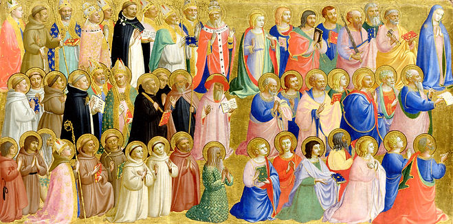 Angelico_Virgin-Mary-with-Apostles-and-o