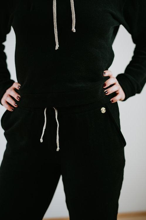 """Pantalon Noir """"Dame Caro"""""""