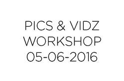 Workshops 05-06-2016