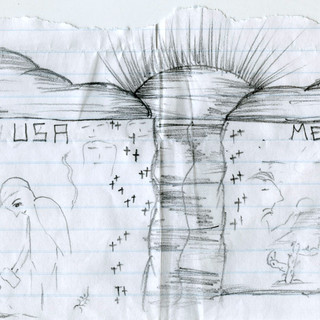 Drawing from the Stewart Detention Center