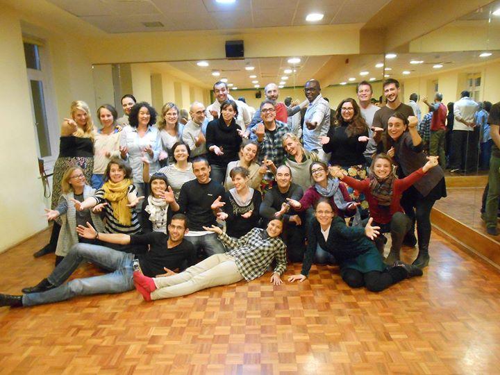 Fotografia de los participantes en el Taller para profesores europeos que compartimos esta semana en