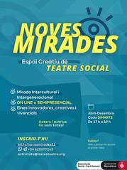"""Inscripcions obertes """"Noves Mirades"""" Formació de Teatre Social"""