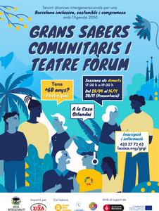 Taller + 60 anys   Grans Sabers Comunitaris i Teatre Fòrum