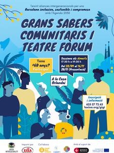 Taller + 60 anys | Grans Sabers Comunitaris i Teatre Fòrum