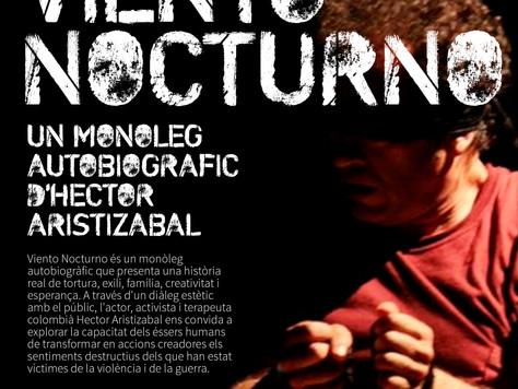 Presentem Viento Nocturno: un monòleg autobiogràfic d'Hector Aristizabal